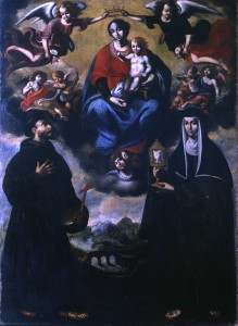 Benedetto Brunetti. Madonna con Bambino. 1660 ca. Monastero Santa Chiara, Venafro. © Cultural Documents