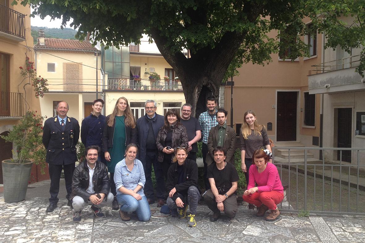 Sindaco Coia and Vigile Urbano Ciafro, Filignano © Cultural Documents