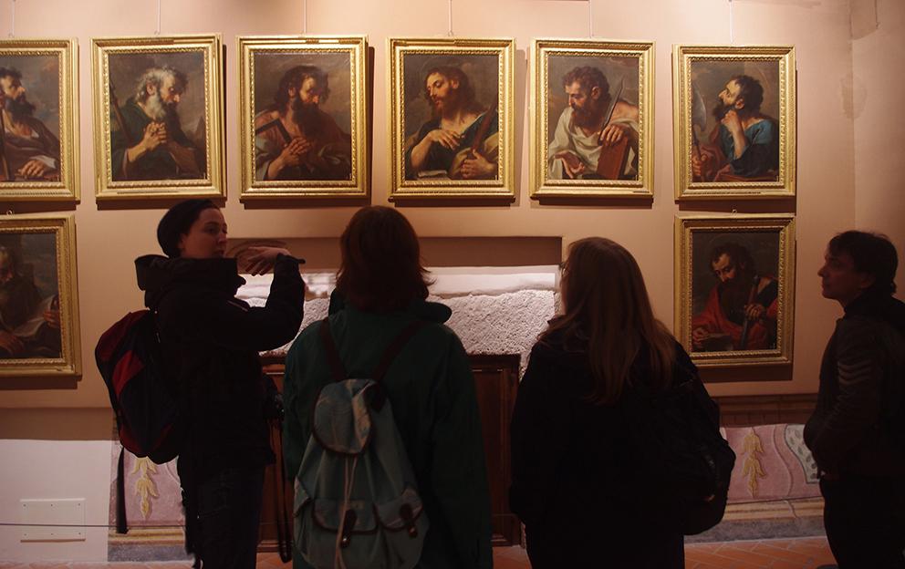 Museo Nazionale del Molise a Castello Pandone, Venafro © Lucy Smalley