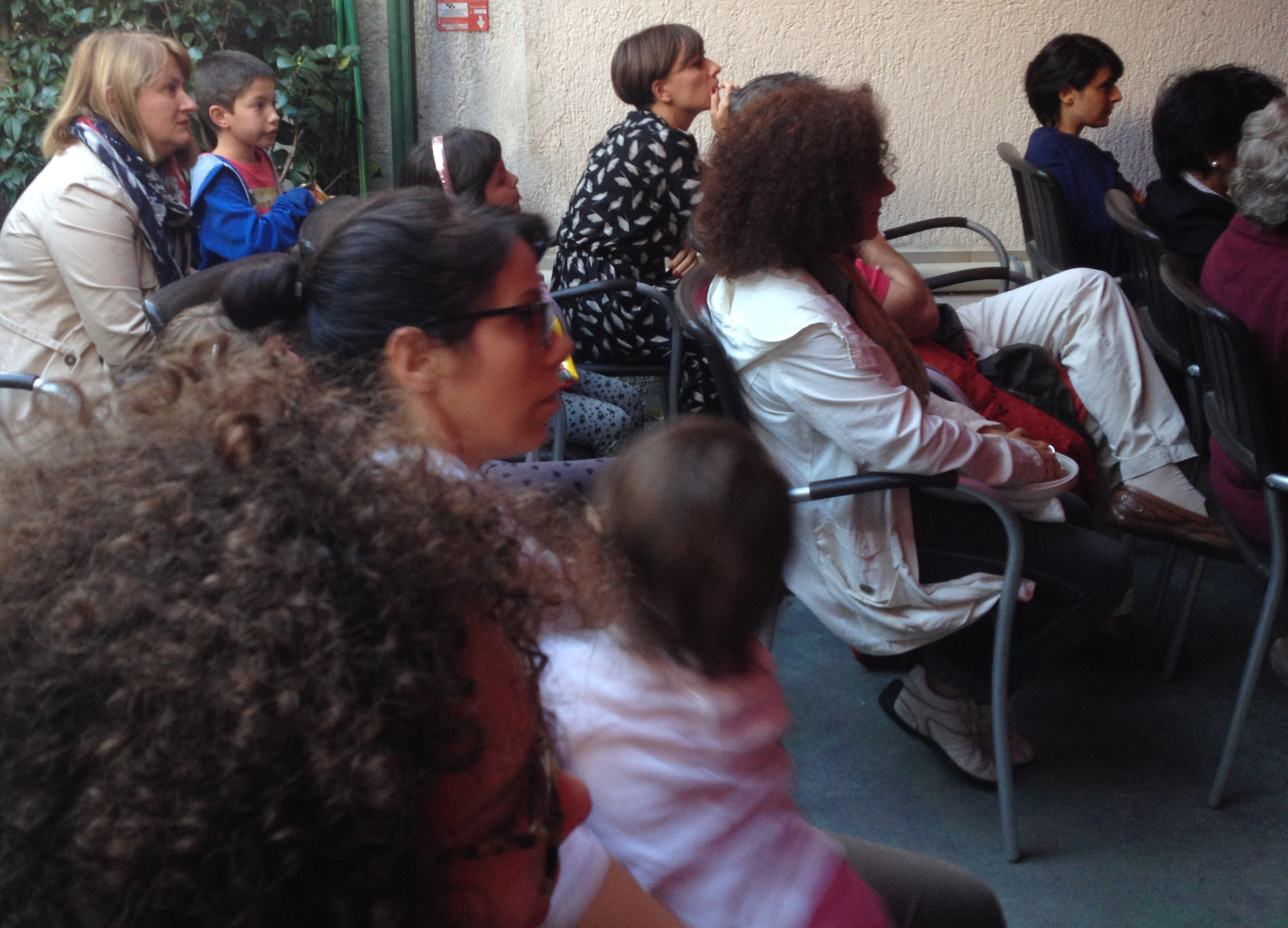 images from the event: screening of 'Cartographers' by Valentina Bonizzi and excerpts from the research for 'Children of Molise' by Agapito Di Pilla with music by Kein, in Filignano. 17.09.2016 © Cultural Documents