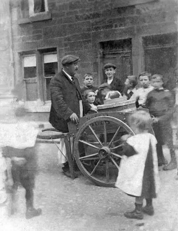 Antonio Pacitti senior, Camelon, Scotland, circa 1890 © Diane Pacitti