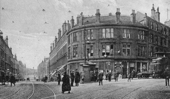 Round Toll, Garscube Road, Glasgow circa 1930 © unknown