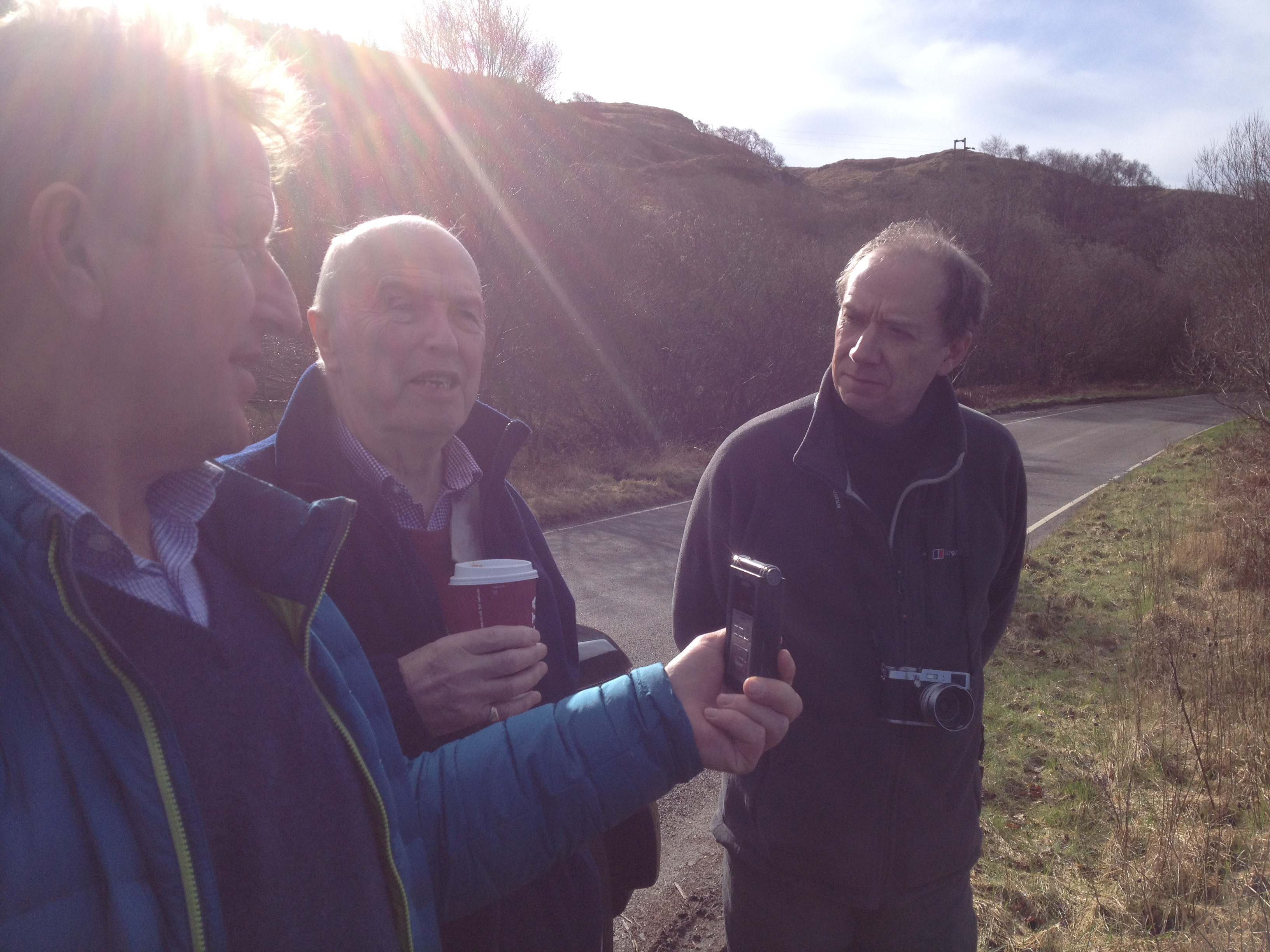 field research with Rab Black of http://www.argyllsafaris.com © Cultural Documents