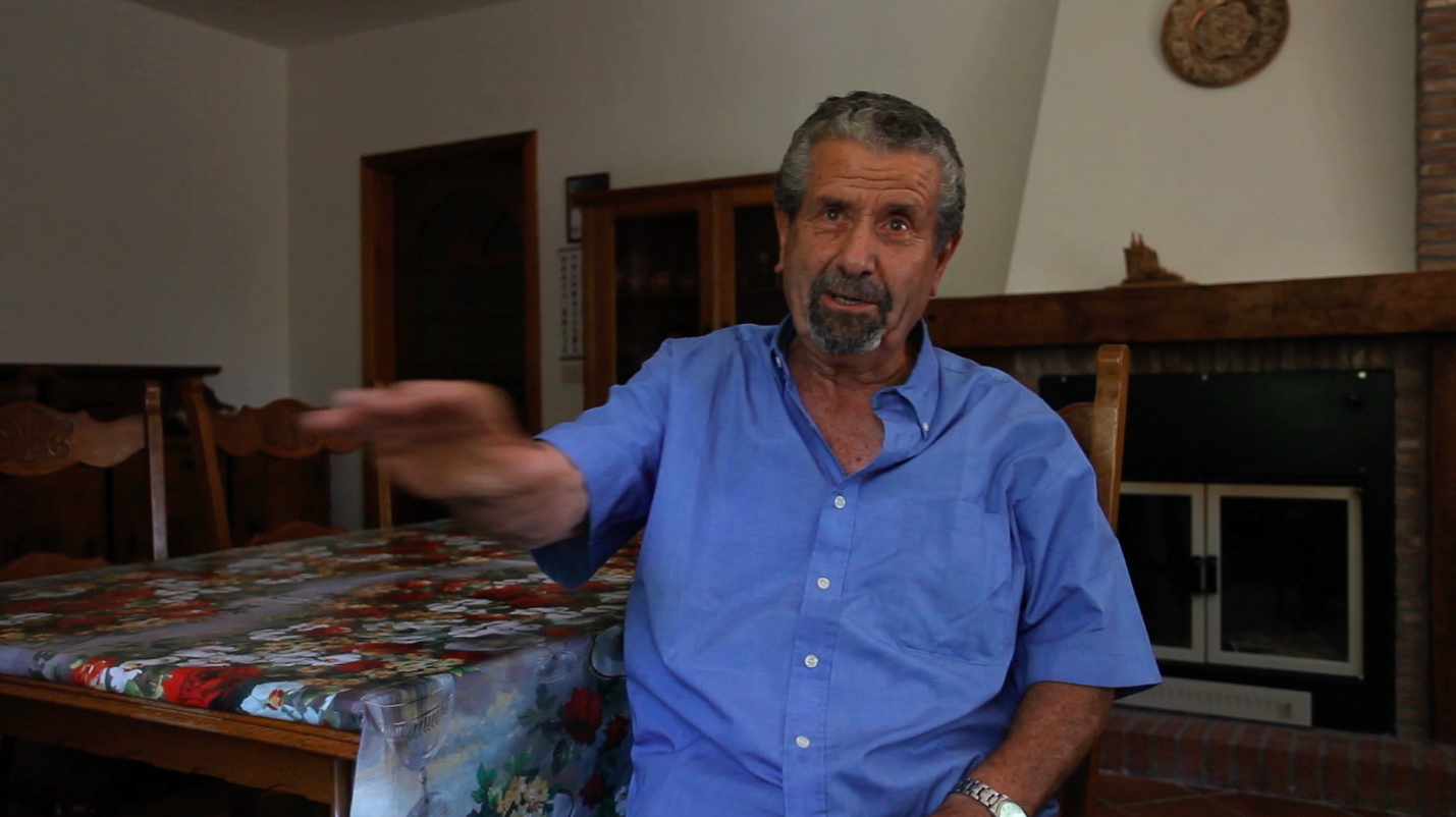 still image of Pasquale Rossi from the series of research interviews made by Valentina Bonizzi and Deirdre MacKenna in 2012 © Valentina Bonizzi and Cultural Documents